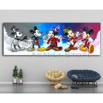 Yeni Elmas Nakış Tam Kareyuvarlak Matkap Daimond Boyama Mickey