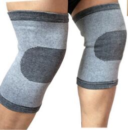 1pair Gray elbow Knee Pads Knee Support Brace Leg Arthritis Injury GYM Sleeve Bandage Ankle Brace Support l9870