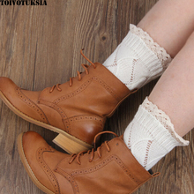 Boot Cuffs Multi Colors Women Gaiters Covers Crochet Lace Leg Pattern Toppers