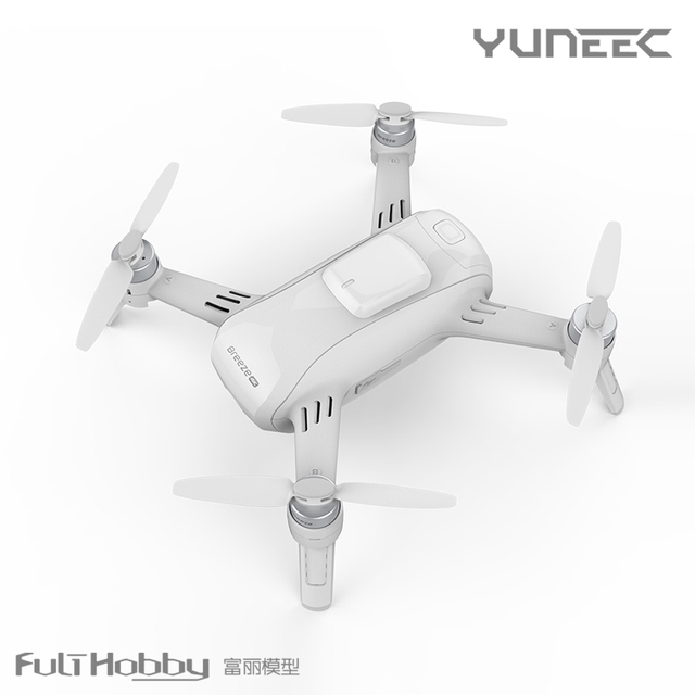 Yuneec brisa foto aérea quadcopter inteligente smart 4 k hd controle remoto selfie mini multicopter