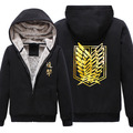 New Anime Shingeki no Kyojin Attack on Titan Hooded Sweatshirt Cosplay men's Hoodie Coat