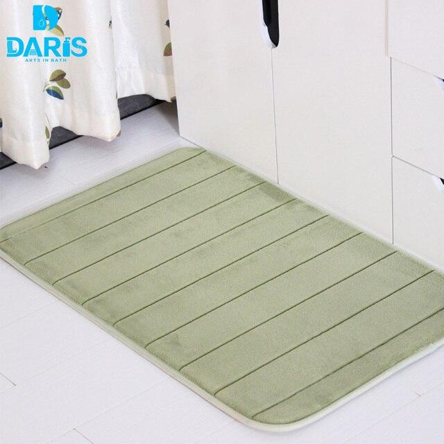 Dry Faster Microfiber Bath Mat Toilet Mat Bedroom Carpet Bath Mats Bathroom Sets Comfortable Kitchen Bedroom Carpet Doormat