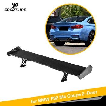 Carbon Fiber Rear Spoiler Window Wing Trunk Lip for BMW F82 M4 Coupe 2 Door 2014-2017 Universal Spoiler