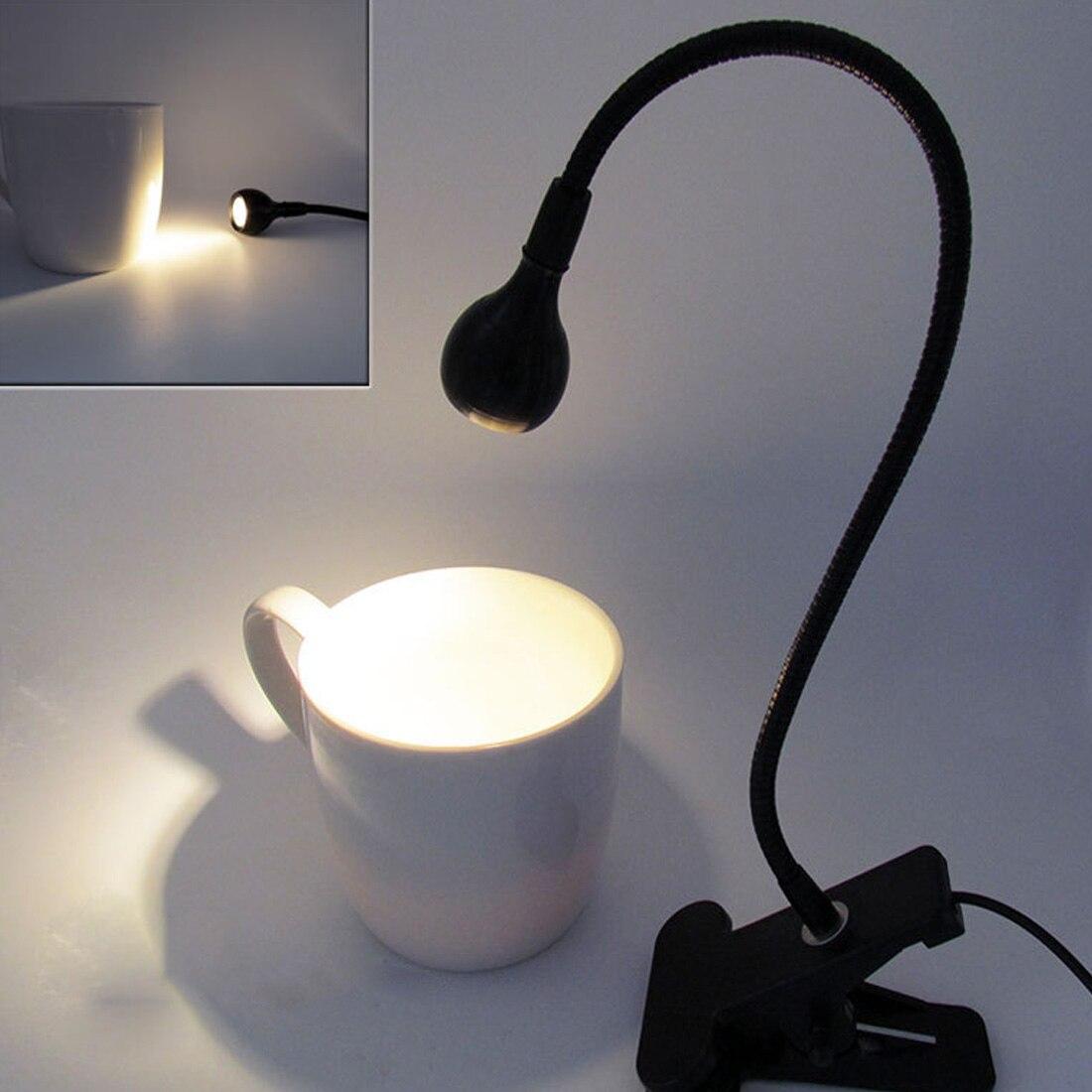 Вентилятор USB гибкая светодиодный свет настольная лампа с зажимом для портативных ПК компьютер Черный гаджеты низкая Мощность потребление ...