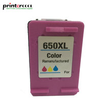 einkshop 650 xl Color Refilled Ink Cartridge Replacement for HP 650xl Deskjet 1015 1515 2515 2545 2645 3535 4645 printer