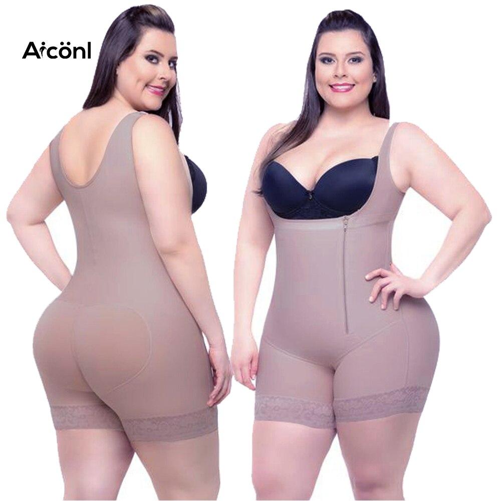 ebbef12c3478e Shaper Shapewear Slimming body Underwear Corset Women Modeling Strap waist  trainer Full Body Shaper butt lifter