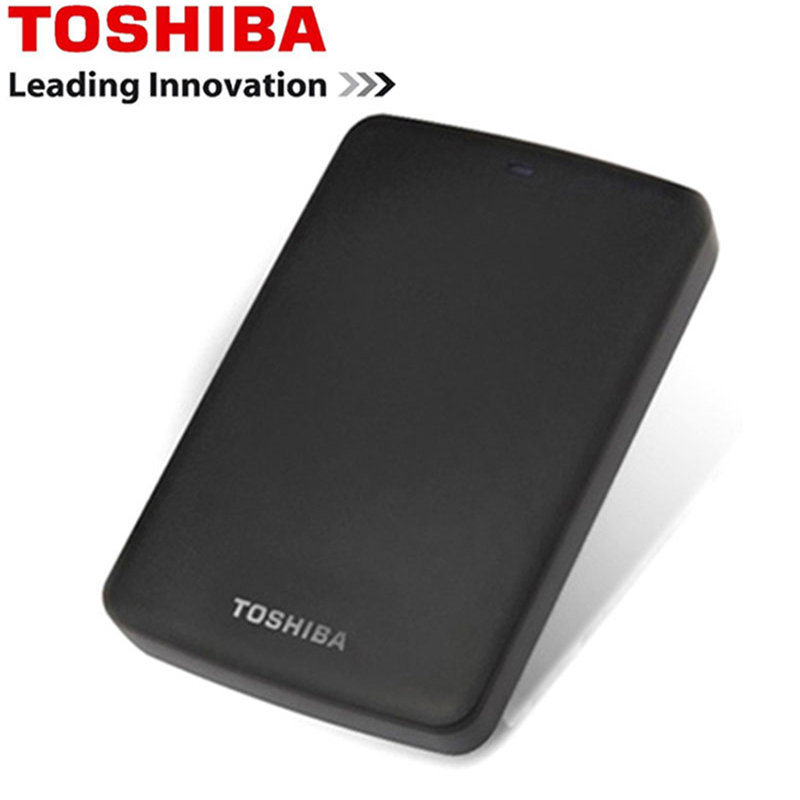 Toshiba Hard Disk Portable 1TB 2TB Free shipping Laptops External Hard Drive 1 TB Disque dur