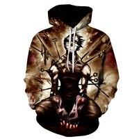 BIANYILONG Tokyo Zombie Anime Hooded Sweatshirt 3D Hooded Jacket Men And Women Long Sleeve Coat New