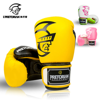 10 16 OZ WHOLESALE PRETORIAN MUAY THAI TWINS PU LEATHER BOXING GLOVES FOR MEN WOMEN TRAINING IN MMA GRANT BOX GLOVES 5 COLORS