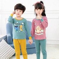 Пижамы для малышей, детская одежда, пижамные комплекты для маленьких мальчиков и девочек, детская Домашняя одежда, одежда для сна, пижамы с р...