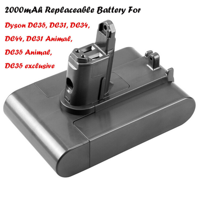 22.2V 2000mAh Li-ion Battery Replacement For Dyson DC31/For DC31Animal/DC34/DC35 #4