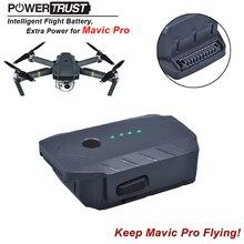 PowerTrust 1 Pack 3830 mAh Baterías Mavic Pro Vuelo Inteligente especialmente diseñado, para dji mavic pro drone Batería