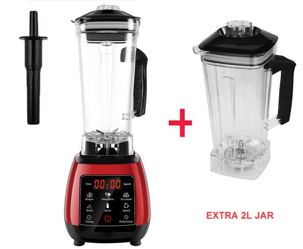 Red extra 2L jar