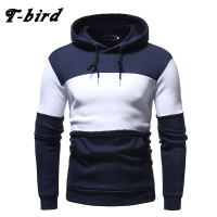 T Bird Hoodies Men 2018 Autumn Winter Men S Sweatshirt Brand Hoodie Fashion Hip Hop Stitching