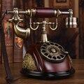 Мода старинные антикварные телефон дома моды установлены американского вращающийся диск телефон