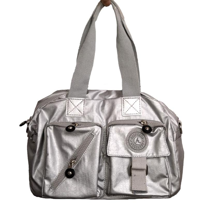 Décontracté Bandoulière Sac pour sacs pour femmes Designer Bolsa Feminina Nylon Imperméable sacs de postier sac à bandoulière Floral Sacs À Main Kiple