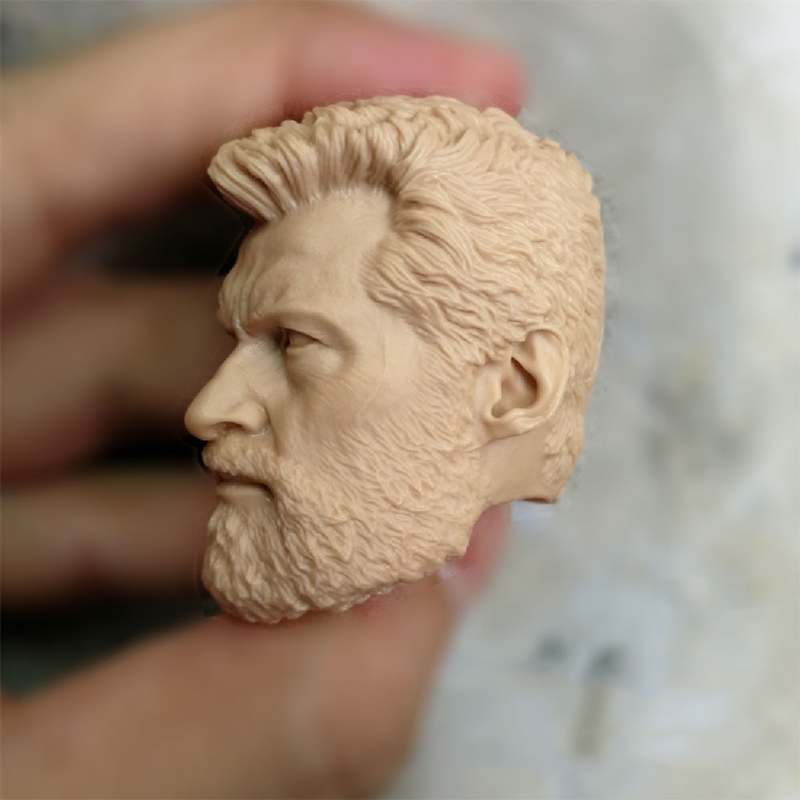 1 6 Hugh Jackman Unpainted Head for 12 39 39 Action Figures Old Aged Version in Action amp Toy Figures from Toys amp Hobbies