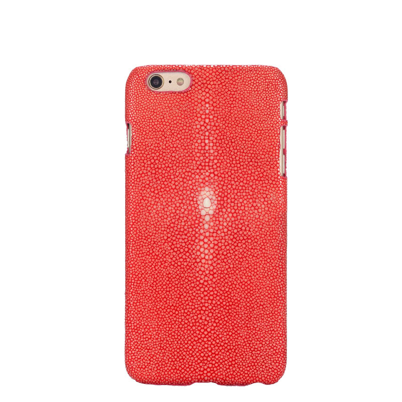 Nice Top Quality Genuine Leather Back Case For Apple Iphone 7 Plus 5.5 Luxury Pearl Fish Skin Customize Phone Rear Cover Free Gift Back To Search Resultshome
