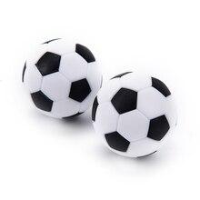 4 шт. 32 мм белый черный пластиковый футбольный стол для футбола мяч для футбола мини-мяч футбольный круглый для крытых игр части машины горячая распродажа