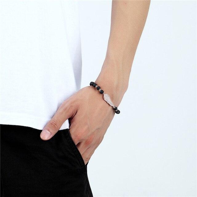 janeyacy новый дизайн натуральный камень тигровый глаз браслет фотография