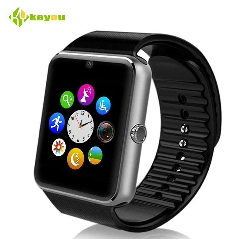 Bluetooth smart watch GT08 sport men fashion wearble wristwatch smartwatch support Sim Android wrist watch cell