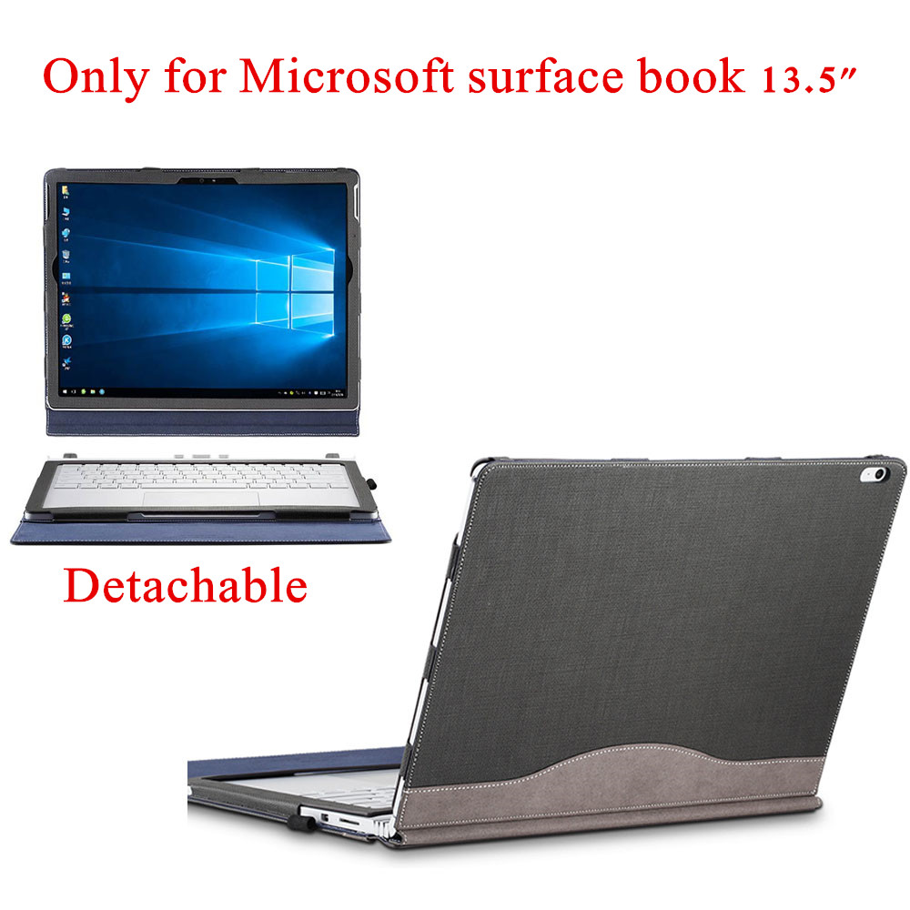 Creative Design Cover For 2015 Microsoft Surface Book 13.5'' Tablet Laptop Sleeve Case Detachable Protective Skin Keyboard Cover genuine leather case for 2017 microsoft surface book 13 5 tablet laptop sleeve creative design for 2015 surface book 13 5