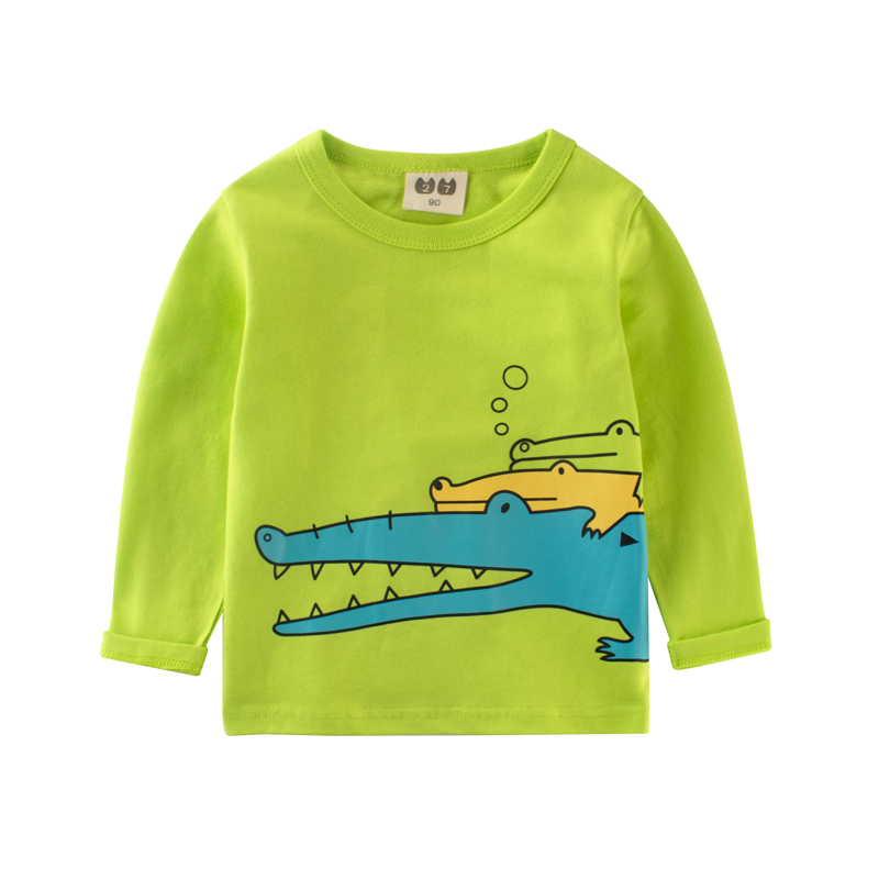Children-clothing-boy-crocodile-kids-clothes-t-shirt-for-girls-Top-shirt-for-children-kid-Shirts-girls-clothes-boys-tops-2