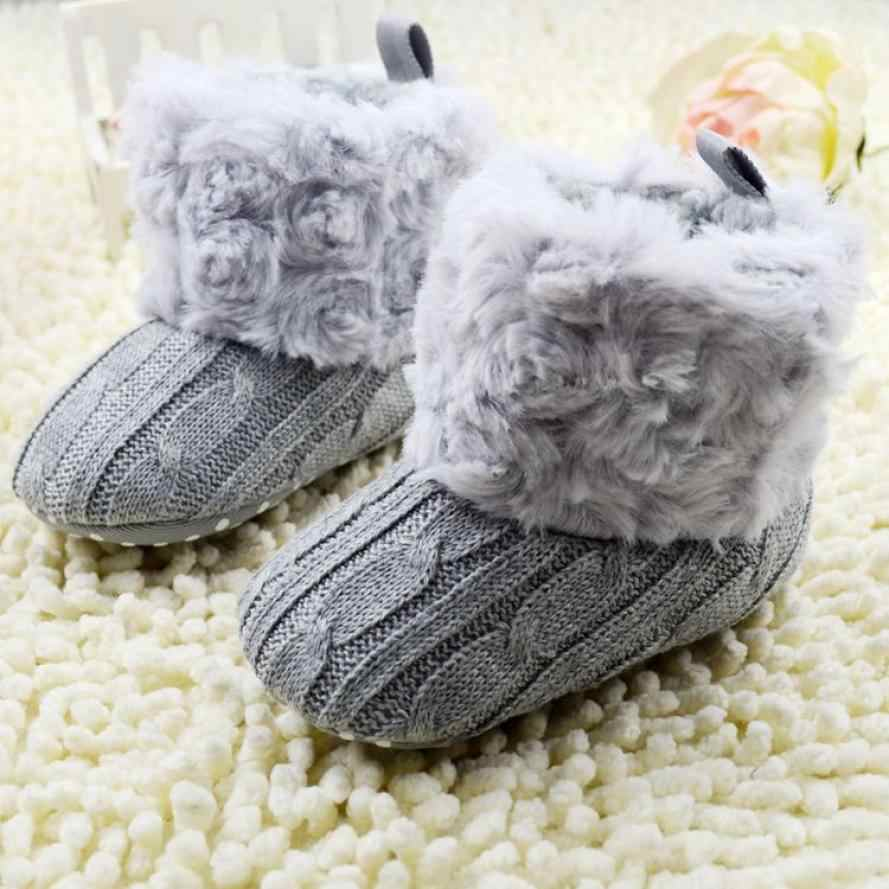 2016 Infant Baby Snow Boots Soft Crib Shoes Toddler Boots baby girl winter shoes botas invierno infantil    Wholesale