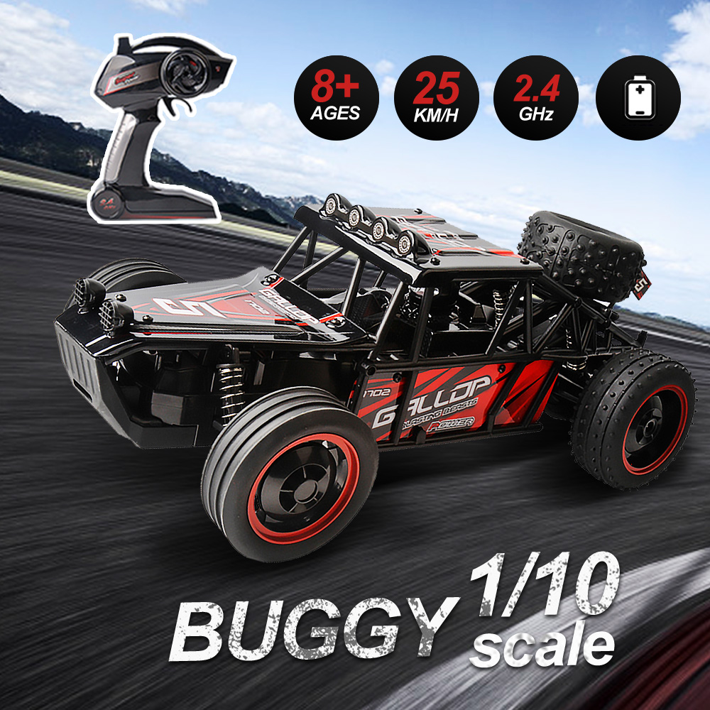 RC Car 1/10 25km/h High Speed Dune Buggy Scale 2.4Ghz Electric Remote Control Car Radio Controlled Machine RTR toys for boys hongnor ofna x3e rtr 1 8 scale rc dune buggy cars electric off road w tenshock motor free shipping
