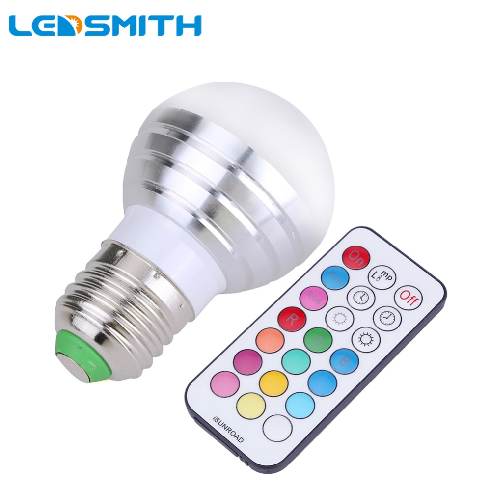 timing function led bulb rgbw e27 5w dimmable spot led. Black Bedroom Furniture Sets. Home Design Ideas