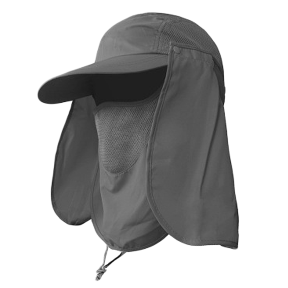 Outdoor Sport Hiking Camping Visor Hat UV Protection Face Neck Cover Fishing Sun Protect Cap Pesca Accessories