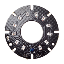 Wholesale Infrared 12pcs Laser IR LED board for MTV Lens Dome Camera Security IP CCTV night vision (Diameter: 55mm)