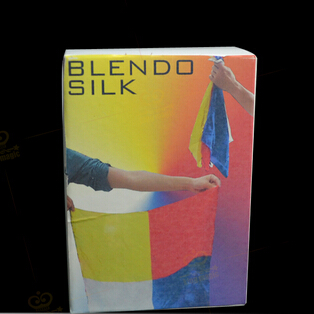 Blendo Silk Magic Tricks Stage Close-Up Magia High Quality Silk Magie Mentalism Illusion Gimmick Prop For Professional Magician