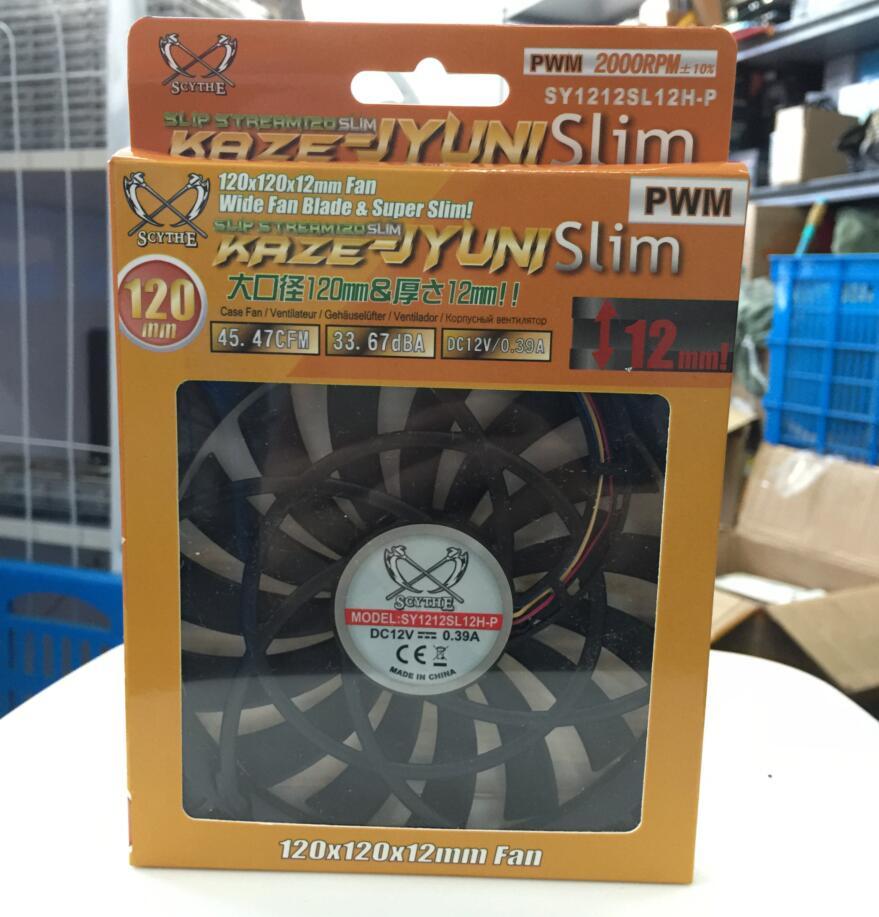 Faux SY1212SL 12H-P 12 H 2000 RPM PWM boîtier de l'ordinateur ventilateur de refroidissement silencieux cpu puissance refroidisseur de refroidissement boîtier de L'ordinateur. ventilateur