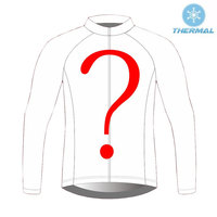 Custom Cycling Jersey Winter Thermal Fleece Long Sleeve Cycling Clothing Tops DIY Any Logo or Club Name Ropa Ciclismo #DZ 004