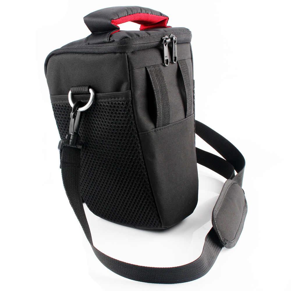 Tas Kamera DSLR Case untuk Canon EOS 4000D M50 M6 200D 1300D 1200D 1500D 77D 800D 80D Nikon D3400 D5300 760D 750D 700D 600D 550D
