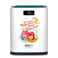 Air Purifier Household Intelligent APP Control Quiet Bedroom Removing Formaldehyde Air Cleaner KJ350G S3D