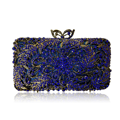 Womens Cocktail Prom Golden Crystal Clutch Evening Bags Bridal Wedding Dress Diamond Shoulder Bags Metal Clutches gold/yellow