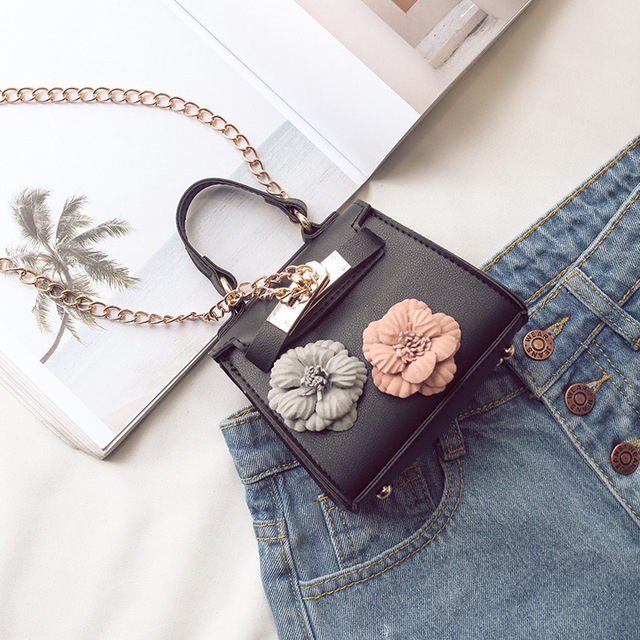 PU leather women coin purse floral organizer wallet small phone pouch money bag female bolso bolsa carteira feminina for girls