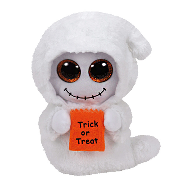 7d12680f113 2016 New 15cm 6inch Ty Beanie Boos Plush Toy Mist - White Ghost Stuffed  Animal Soft
