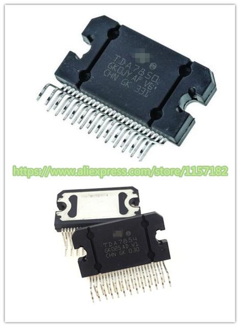 TDA7854 アンプチップTDA7850 47 幅x 4 世代ジップ 25 new原文