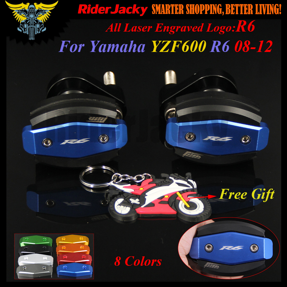 Motorcycle Frame Crash Pad Engine Stator Cover Slider ProtecFor Yamaha YZF R6 YZFR6 08 12 YZF600