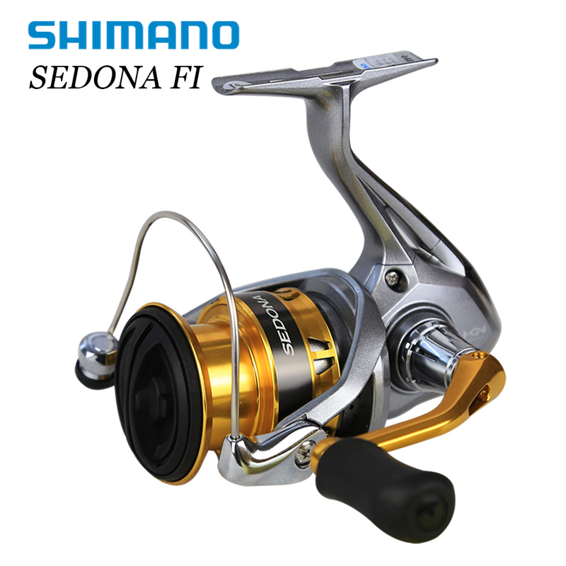 Shimano SEDONA 1000-8000 Series Spinning Angelrolle 4BB Hagane Getriebe GFree Körper I T Knopf L/R griff Saltewater Pesca Carretilha