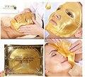 3X Золото Био-Коллагеновая Маска Для Лица Кристалл Женщины Лица Против Старения Увлажняющий Золотой Порошок Colageno маска Бесплатная Доставка