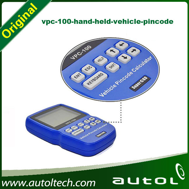 Professional VPC 100 Vehicle PinCode Calculator, immo