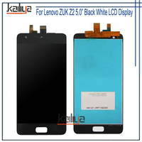 For Lenovo ZUK Z2 LCD Display 5 0 Inch Black White Touch Screen Digitizer Assembly Replacement