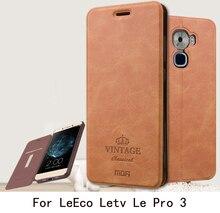 Pour LeEco Letv Le Pro 3 Téléphone Cas Mofi Luxe Flip Book PU en cuir Stand Cas Pour LeEco Letv Le Pro 3 Cas Avec Porte-Cartes