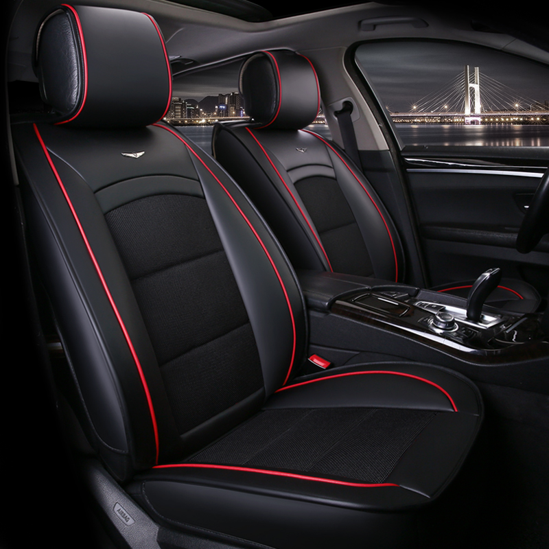 High Quality Car Seat Cover Universal automobiles seats covers accessories for acura mdx rdx zdx jaguar f-pace xf xj xjl XE x351