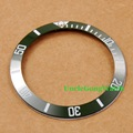 Watch Parts, Corgeut 38mm Green Ceramical Bezel Fit for 40mm SUB Automatic Watches , Timepiece Insert for DIY Clocks BZSUB38GN