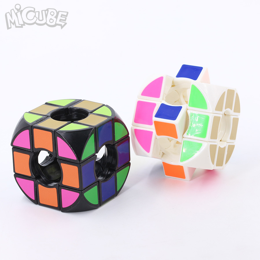 Micube Rounded Void Pillowed Cube 3x3x3 Speed Cube Cubo Magico Educational Toys Magic Cubes Puzzle Black/white